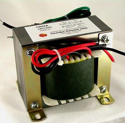 Transformer 18 Volt 36 Volt 150va Foam Cutting Electronics Etc.