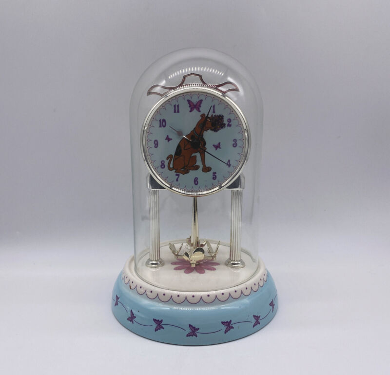 Scooby Doo Domed Mantle Clock 2001