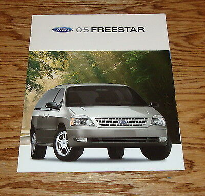 2005 Ford Freestar Minivan Sales Brochure -