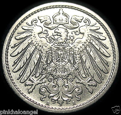Germany - German Empire - German 1907A 10 Pfennig Coin - GREAT COIN