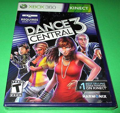 Dance Central 3 Xbox 360 *Factory Sealed! *Free Shipping! comprar usado  Enviando para Brazil
