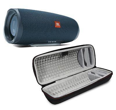 JBL Charge 4 Blue Portable Bluetooth Speaker w/Case