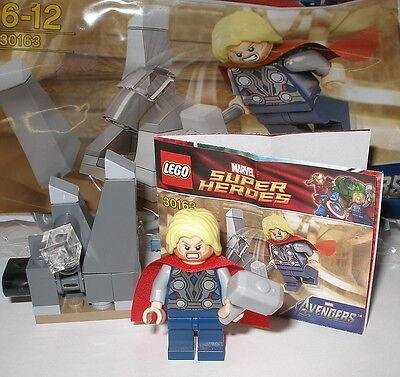 Thor Zubehör (Lego 30163 Thor mit Zubehör OVP)