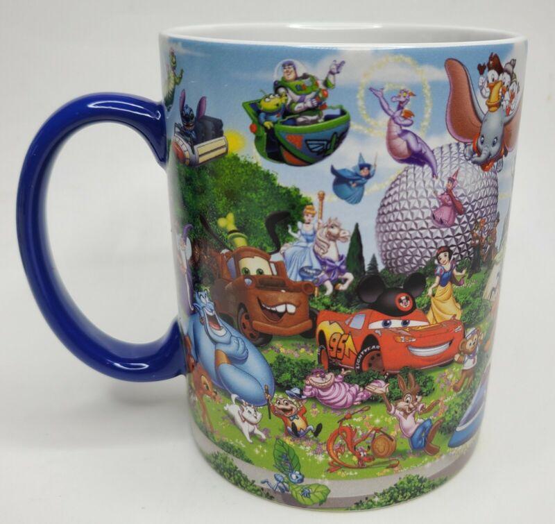 Walt Disney World Mutliple Character Oversized Mug Authentic Parks Disney/Pixar