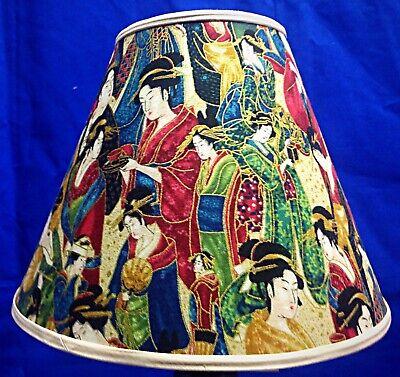 Oriental Shade - Asian Oriental People Handmade Lamp Shade