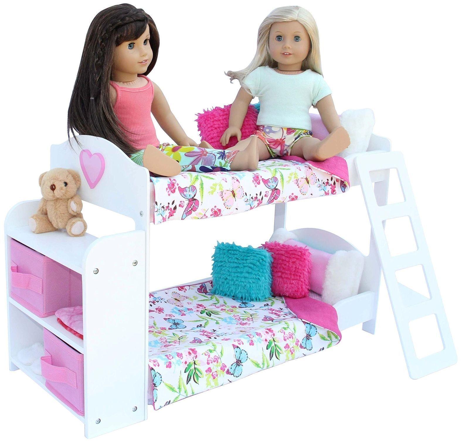 American Girl 20-Piece Bedroom Set for 18 Inch Doll | eBay