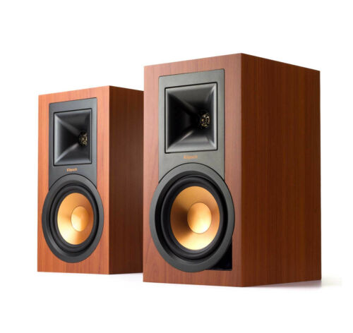 """Klipsch Reference 5.25"""" 100W 2-Way Powered Bluetooth Monitors (Pair) Black R-15PM"""