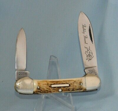"BULLDOG STAG CANOE KNIFE 2006 ""NEAR MINT! NO CASE /BOX"
