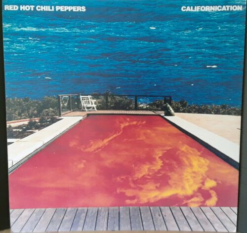 RED HOT CHILI PEPPERS CALIFORNICATION 1999 VINTAGE MUSIC STORE BIG PROMO DISPLAY
