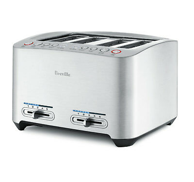 Breville BTA840XL Die-Cast 4-Slice Smart Toaster