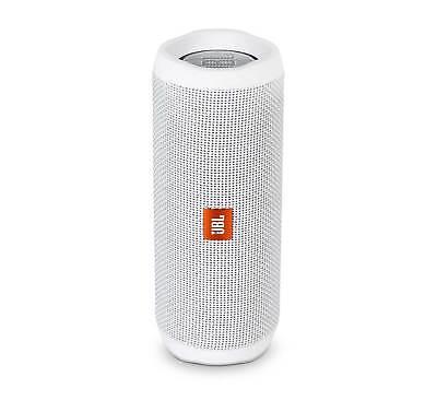 JBL FLIP 4 White Open Box Waterproof Bluetooth Speaker