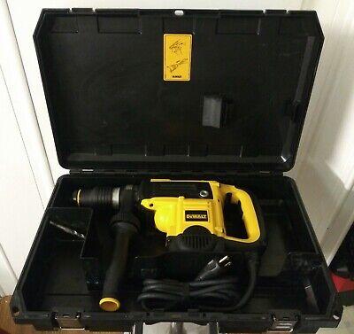Dewalt 12 Amp 1-916 Sds-max Combination Hammer Kit