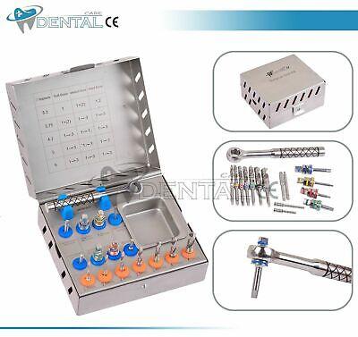 Implante Nuevo kit de taladro quirúrgico taladros conductores Ratchet...