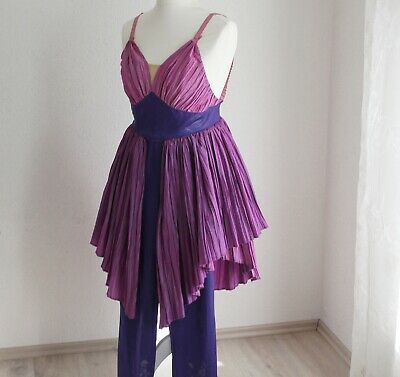 Kostüm Fee lila Gr. S Hose und Kleid Handarbeit Einzelstück Kostümfest - Kostüm Arbeit