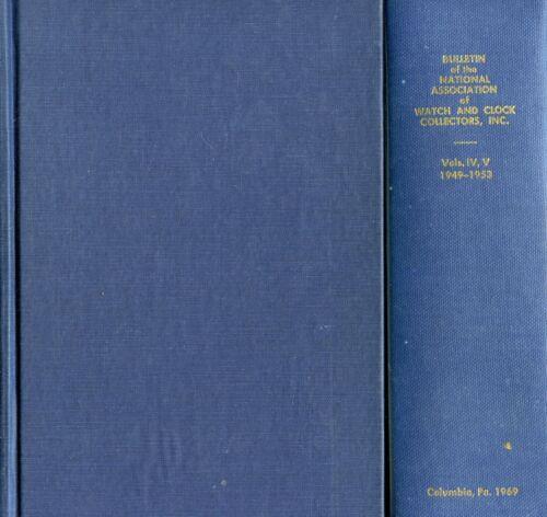 Antique Watch Clock Reference - History Mechanisms Tech Info Etc. / 990-Pg Book