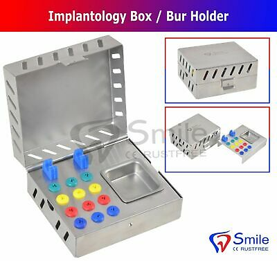 Dental Surgical Instruments Empty Sterilization Box For Implant Tools Dental New