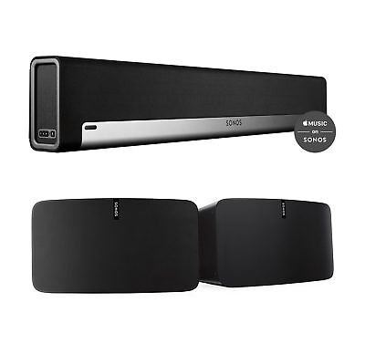 playbar soundbar and play 5 black wireless