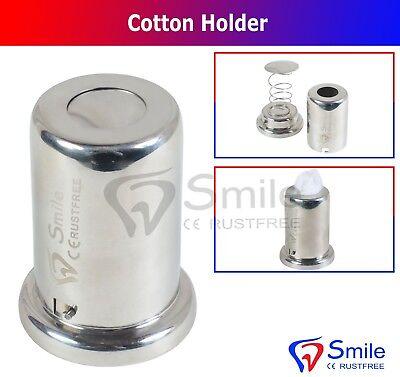 Cotton Dispenser Holder S.s With Internal Spring Surgical Dental Smile Dentale