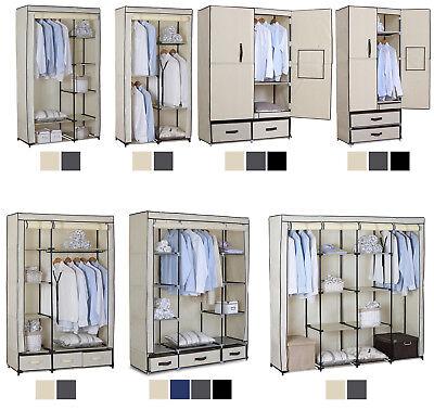 Kleiderschrank Garderobenschrank Stoffschrank Faltschrank Campingschrank #173