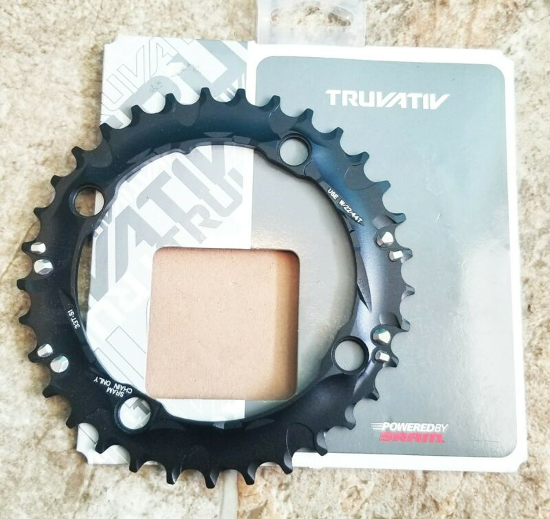 TRUVATIV CRING CHAIN RING MTB Black 33T 104 S1 AL5 BTBLK 3X10 BIKE BICYCLE SRAM
