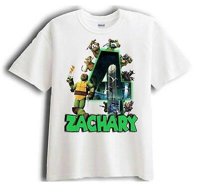 Teenage Mutant Ninja Turtle Raph Personalized - Birthday Shirt Party Favor ](Ninja Turtle Birthday Party)