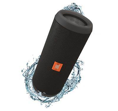 JBL Flip 3 Black Splashproof Bluetooth Speaker
