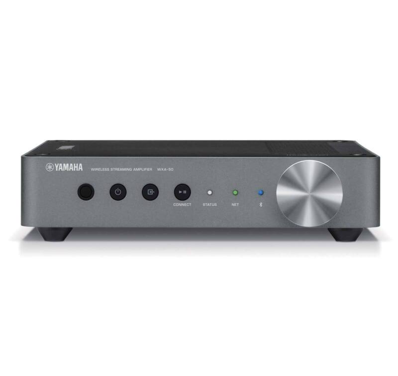 Yamaha WXA-50 MusicCast wireless streaming amplifier with Wi-Fi and Bluetooth