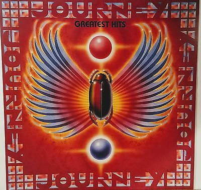 JOURNEY 'Greatest Hits' 12x12 Album  Flat Promo  Double Sided Mint!