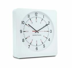 Marathon CL030057WH-WH1 Analog Jumbo Wall Clock White