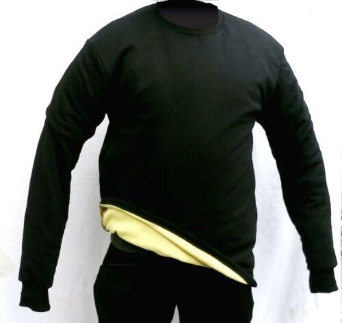 Cut/slash resistant shirt, long sleeve, made with Dupont Kevlar level 3 lining
