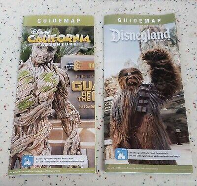 Disneyland / Disney California Adventure Guide Map January (Disneyland California Adventure)
