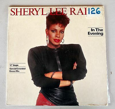 Sheryl Lee Ralph In The Evening Promotional 12  Single Vinyl Record W Dance Mix
