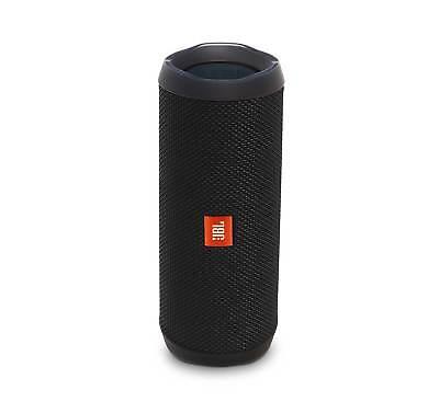 JBL FLIP 4 Black Portable Bluetooth Speaker