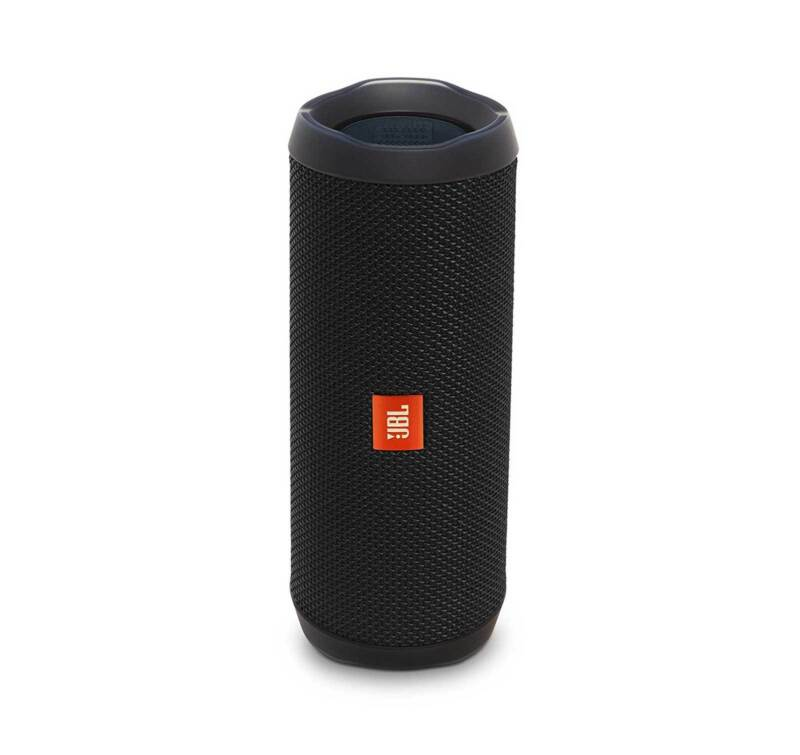 JBL FLIP 4 Black Portable Bluetooth Speaker