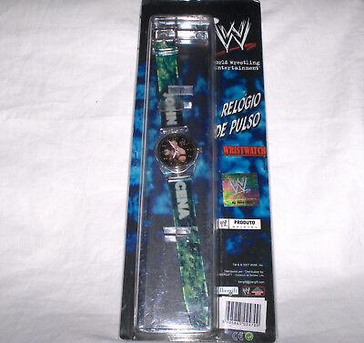 John Cena, WWE Wrestling,Armbanduhr ohne Batterie  - Neu,OVP,Lizenzware,Rarität ()