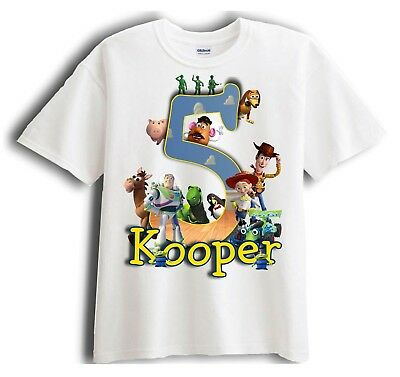 Toy Story - Personalized - Birthday T-Shirt Party Favor  Birthday Party Favor T-shirt