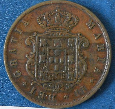 Portugal XX (20) Reis 1853