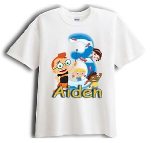 Little Einsteins Personalized - Birthday T-Shirt Party Favor