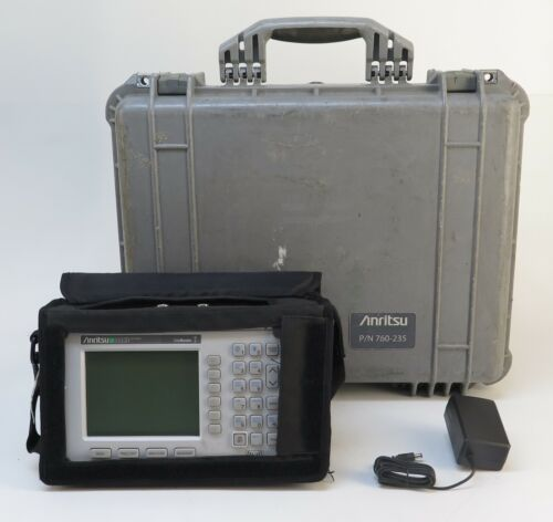 Anritsu S332D Site Master Cable and Antenna Analyzer - B&W