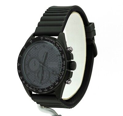 Mens's Fossil Sport 54 Black Dial Chronograph Watch CH3080, New