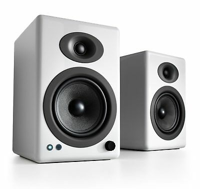 Audioengine A5+ Wireless White Speakers with aptX HD