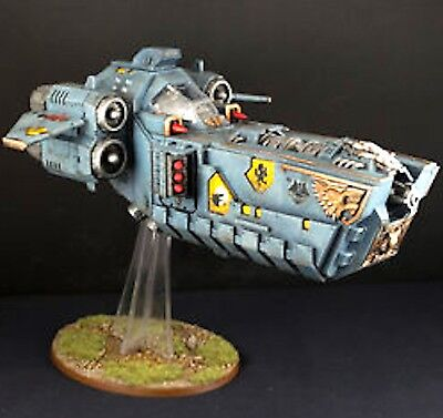 STORMFANG GUNSHIP-STORMWOLF Space Wolves Vehicle - Games Workshop: Warhammer 40K