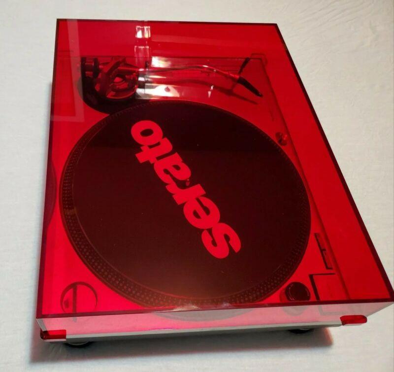 Technics SL 1200 mk2 Dust Cover - Red