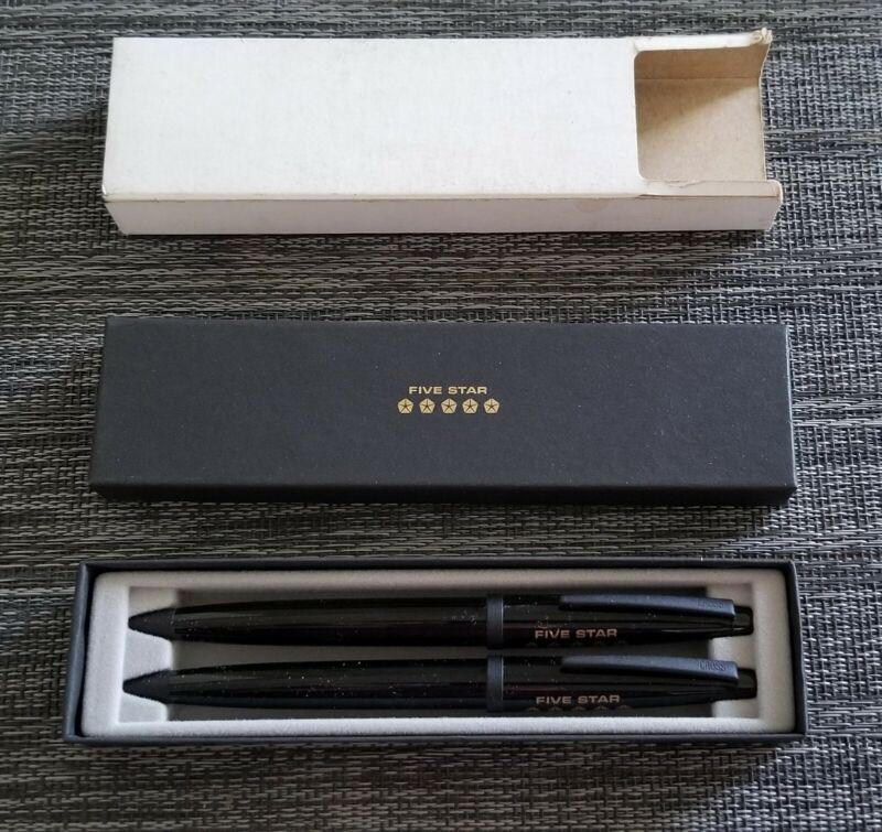 automobile memorabilia Chrysler Five Star Pen Set (2)