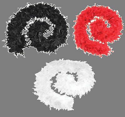 Feather Boa Deluxe High Quality 80 Grams Burlesque Hen Night Party Fancy - Deluxe Burlesque Kostüm