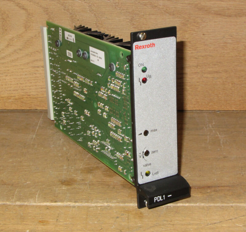Rexroth Vt-vrpa1-527-10/v0 Vtvrpa152710v0 Amplifier Card Csq