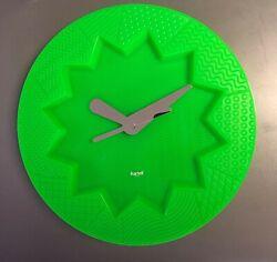 Kartell Crystal Palace Wall Clock Alessandro Mendini Alessi Vitra ERA