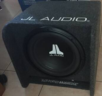 JL AUDIO SLOT-PORTED BASSWEDGE