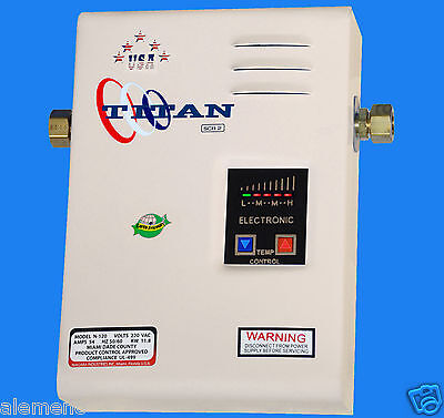 Titan Tankless Water Heater SCR2 Model N-120, N100, N85 Bran