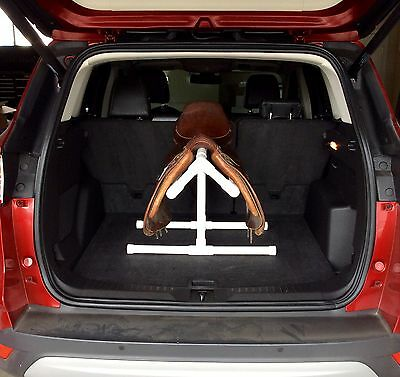 PVC COOL SADDLE RACK/STAND FOR CAR TRUNK - BACK SEAT - HATCHBACK - CLEARANCE!
